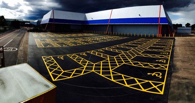 AAC Disabled bays car park markings